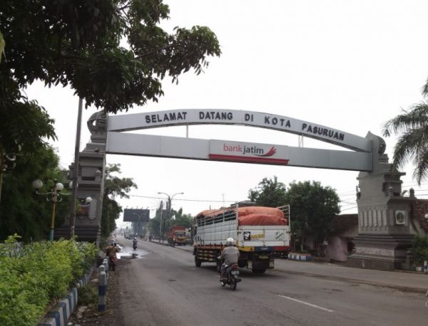 Ekspedisi Jogjakarta ke Pasuruan, Jawa Timur