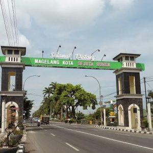 Ekspedisi Jogjakarta ke Magelang, Jawa Tengah