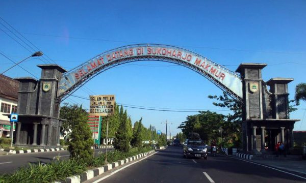 Ekspedisi Jogjakarta ke Sukoharjo, Jawa Tengah