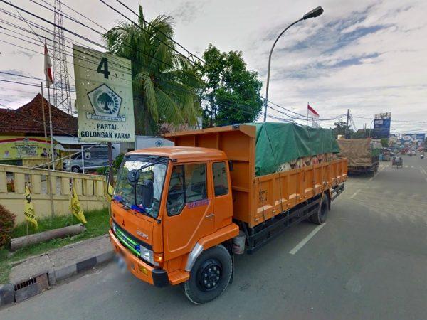 Ekspedisi Jogja ke Rangkasbitung, Banten